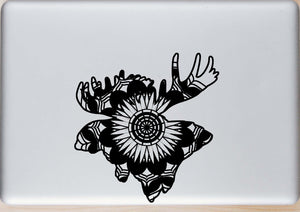 Elk Head Mandala Animals SVG