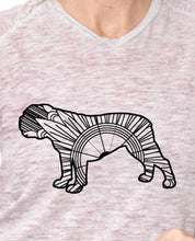English Bulldog Mandala SVG