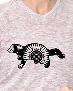 Fisher Cat Mandala Animals SVG