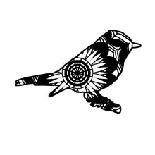 Flycatcher Mandala Animals SVG