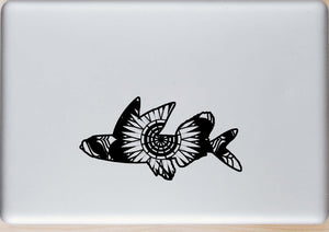 Flying Fish Mandala Animals SVG