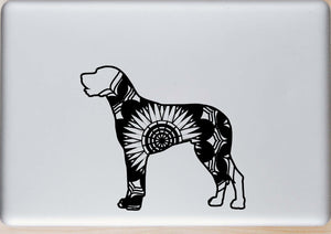 Great Dane Mandala Animals SVG