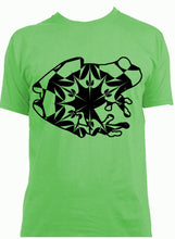 Green Tree Frog Mandala