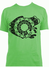 Green Tree Frog Hot Summer Mandala Designs