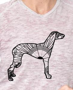 Greyhound Dog Mandala SVG
