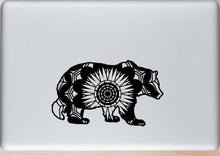 Grizzly Bear Mandala Animals SVG