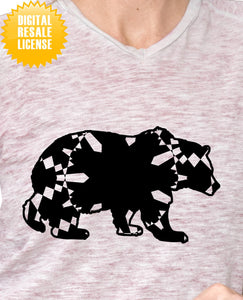 Grizzly Bear Mandala