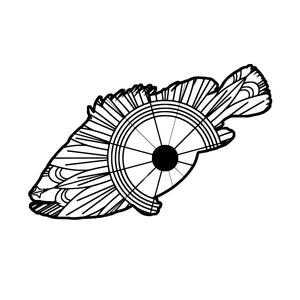 Grouper Mandala SVG