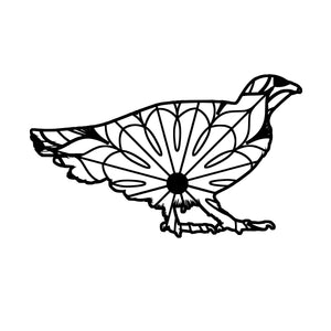 Grouse Mandala - Grouse Mandala Svg -