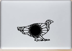 Grouse Mandala Animal SVG, PNG, DXF & EPS Cut File Download