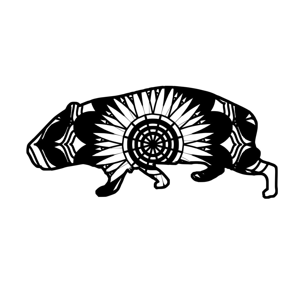 Guinea Pig Mandala Animals SVG