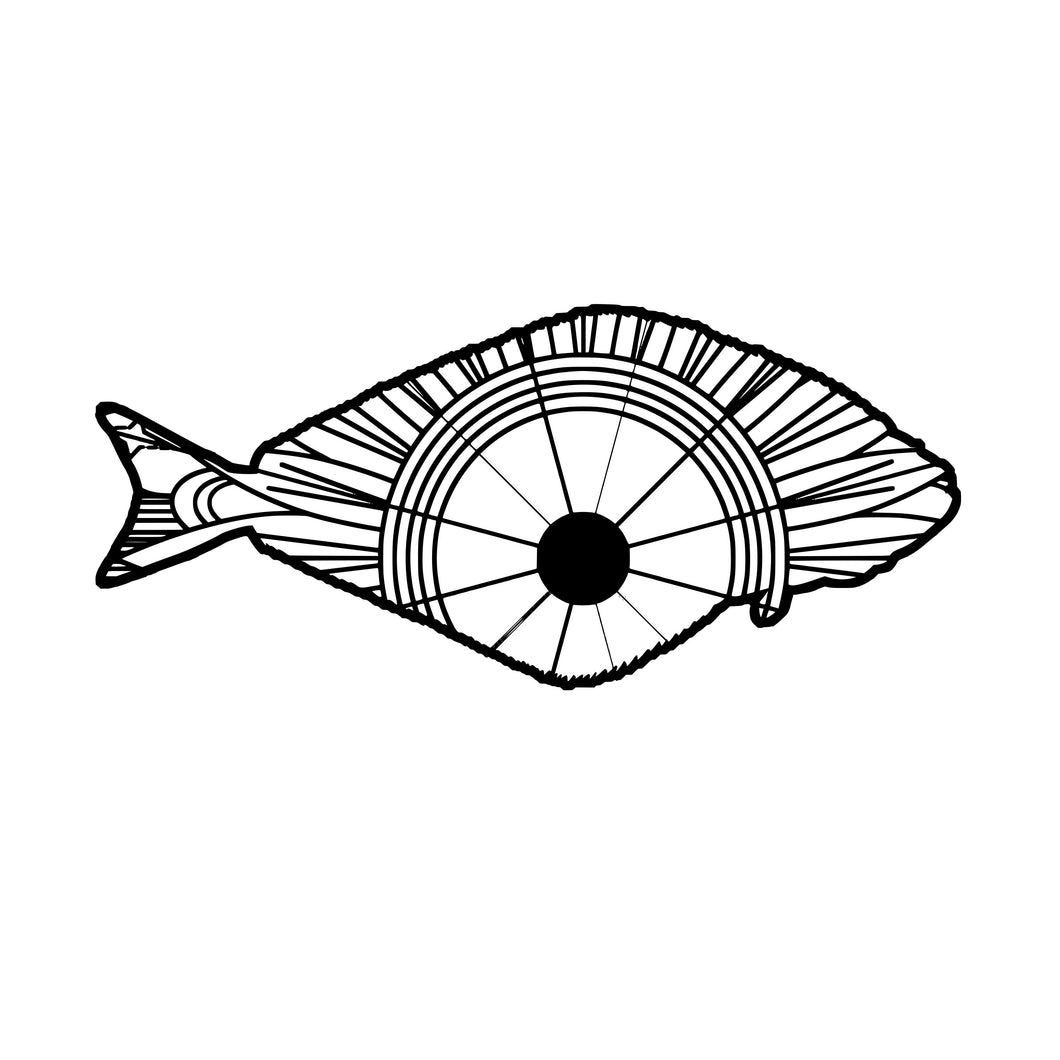 Halibut Mandala SVG