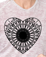 Heart Mandala - Heart Mandala Svg - Heart Animal Mandala Svg - Heart Mandala Monogram