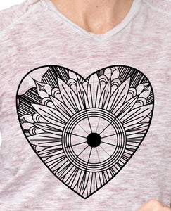 Heart Mandala SVG