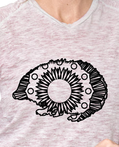 Hedgehog Hot Summer Mandala Designs
