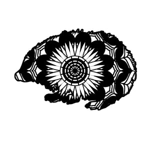 Hedgehog Mandala Animals SVG