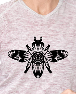Honeybee Mandala Animals SVG