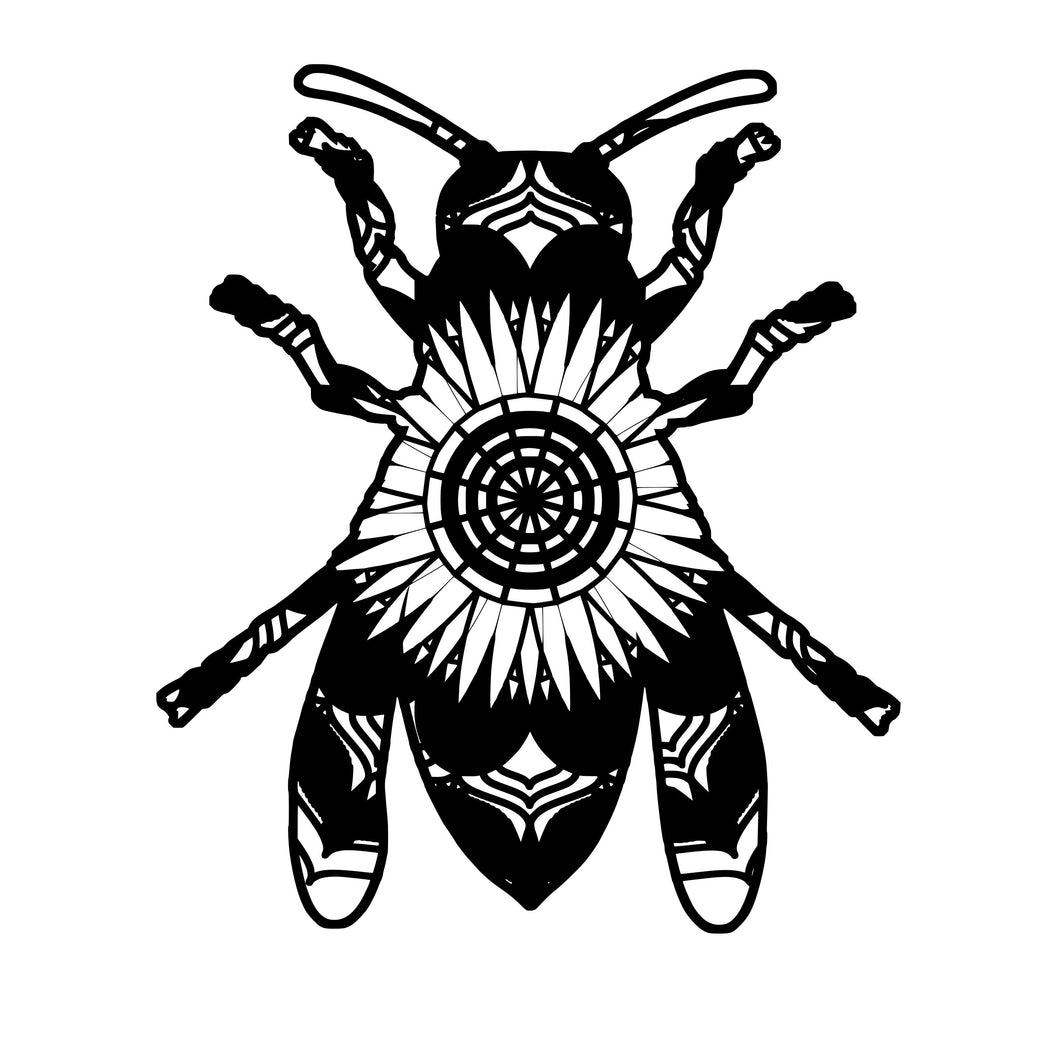 Hornet Mandala Animals SVG