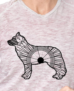 Husky Dog Mandala SVG