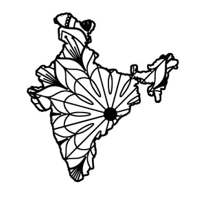 India Map Mandala - India Map Mandala Svg -