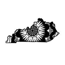 Kentucky Map Mandala Animals SVG