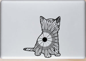 Kitten Mandala SVG