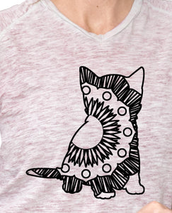 Kitten Hot Summer Mandala Designs