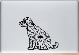 Labrador Retriever Sitting Mandala - Labrador Retriever Sitting Mandala Svg -