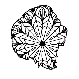 Lion Head Mandala - Lion Head Mandala Svg -