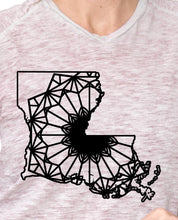 Louisiana Map Mandala Animal SVG, PNG, DXF & EPS Cut File Download