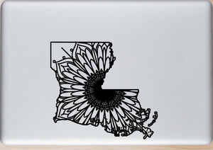 Louisiana Map Mandala - Louisiana Map Mandala Svg - Louisiana Map Animal Mandala Svg - Louisiana Map Mandala Monogram