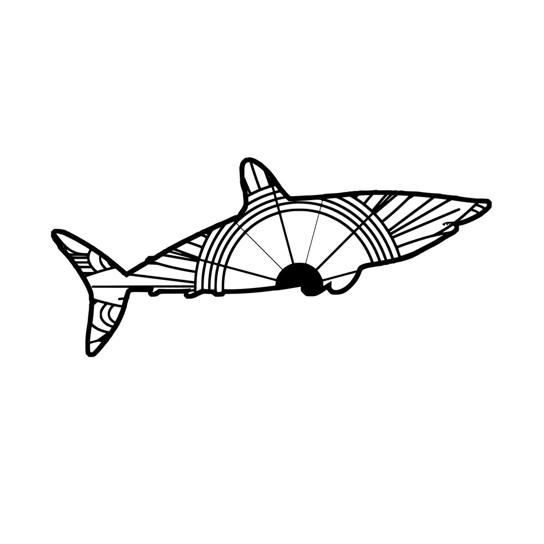 Mako Shark Mandala SVG