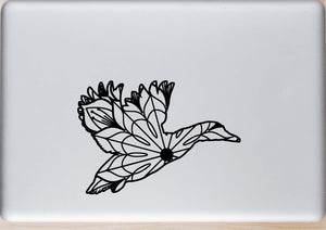Mallard Duck Flying Mandala - Mallard Duck Flying Mandala Svg -
