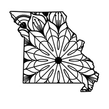 Missouri Map Mandala - Missouri Map Mandala Svg -