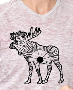 Moose Deer Mandala SVG