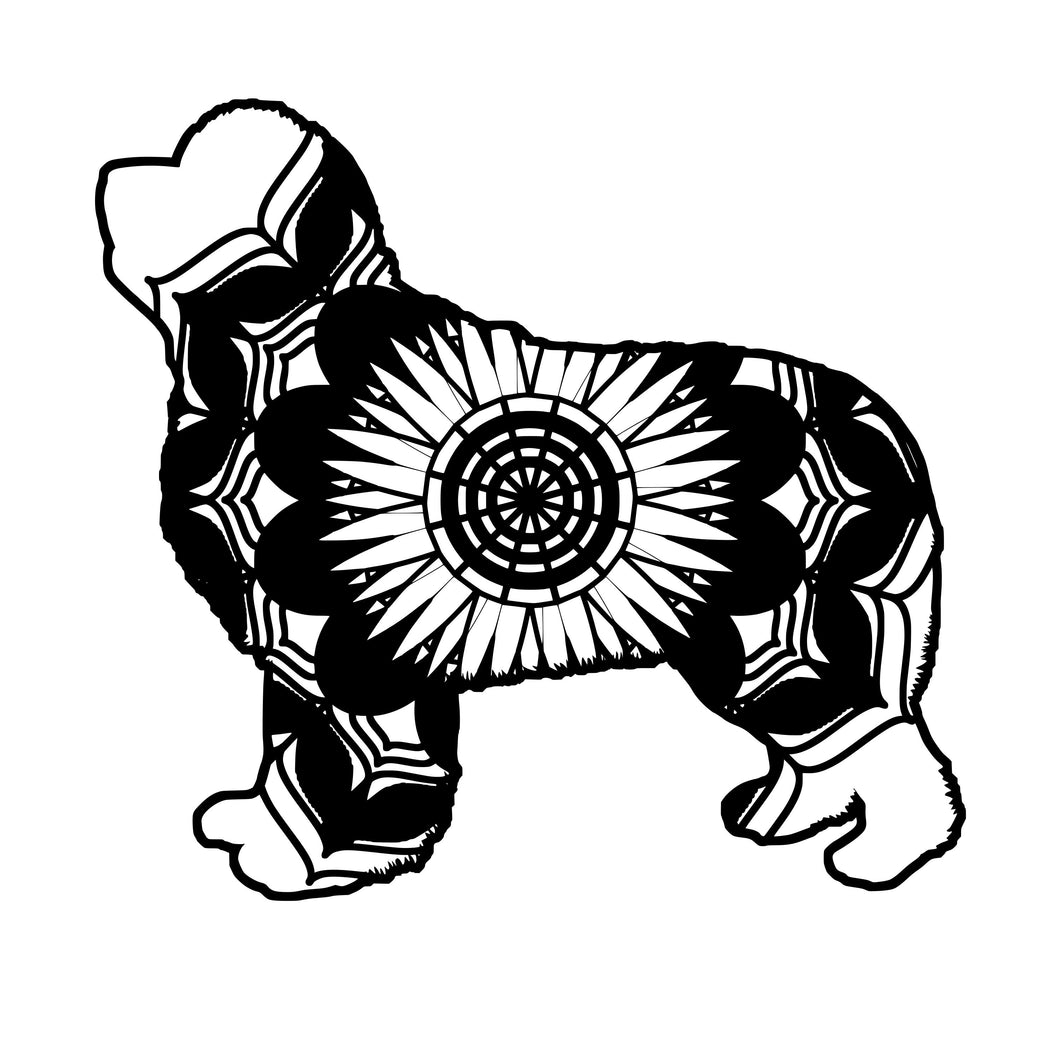 Newfoundland Mandala Animals SVG