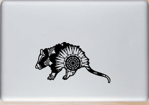 Opossum Mandala Animals SVG
