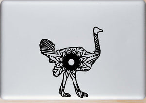 Ostrich Mandala Animal SVG