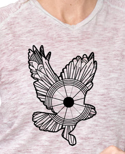 Owl In Flight Mandala SVG