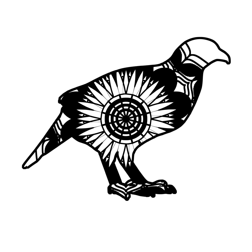 Partridge Mandala Animals SVG
