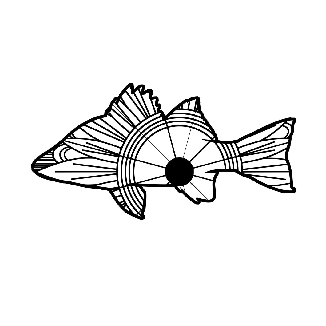 Perch Mandala SVG