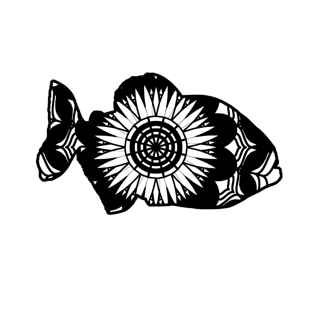 Piranha Mandala Animals SVG