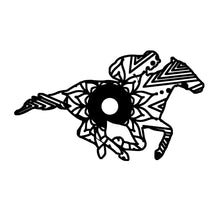 Race Horse Mandala Animal SVG