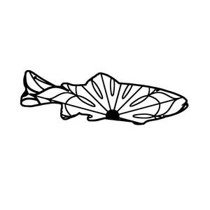 Rainbow Trout Mandala - Rainbow Trout Mandala Svg -