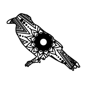 Raven Mandala Animal SVG