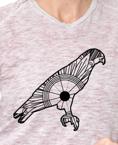 Red Tailed Hawk Mandala SVG