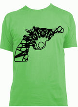 Revolver Gun Mandala Winter SVG