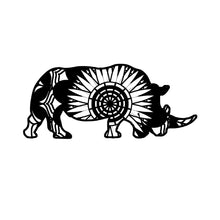 Rhino Mandala Animals SVG