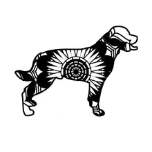 Rottweiler Mandala Animals SVG