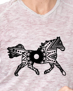 Running Horse Mandala Animal SVG